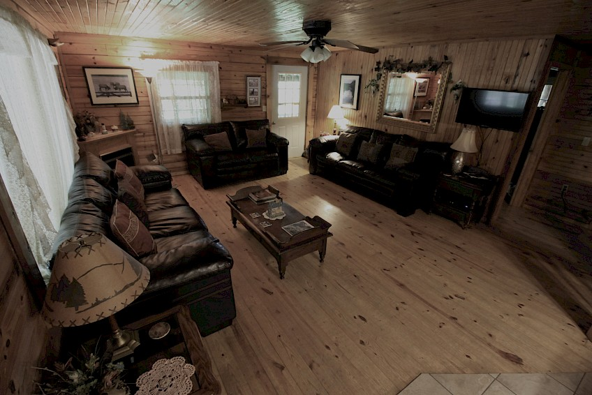 Cabin #2 Living Room