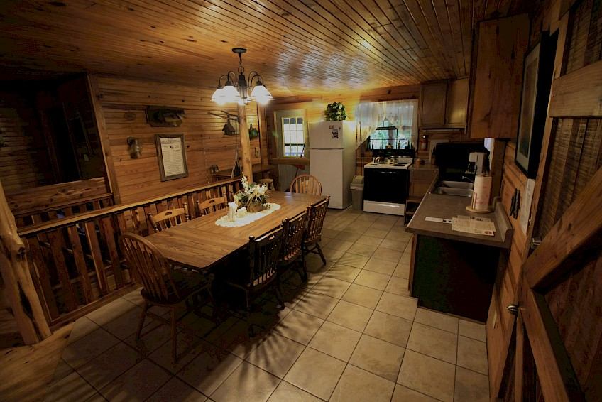 Kitchen & Dining Area Cabin #2